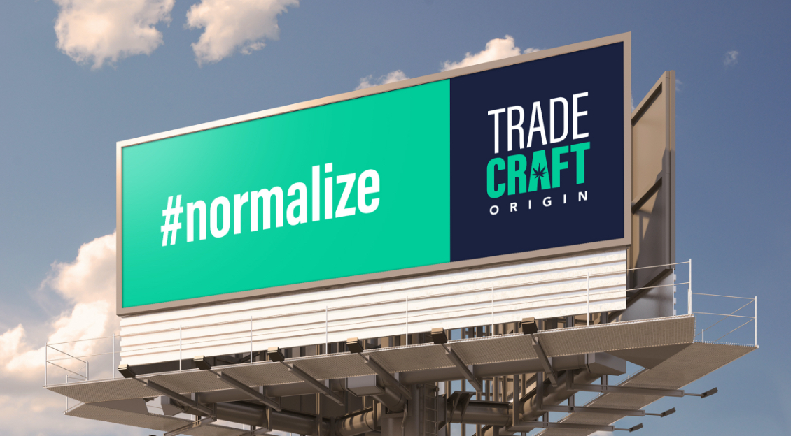 Trade Craft Cannabis Consulting sign